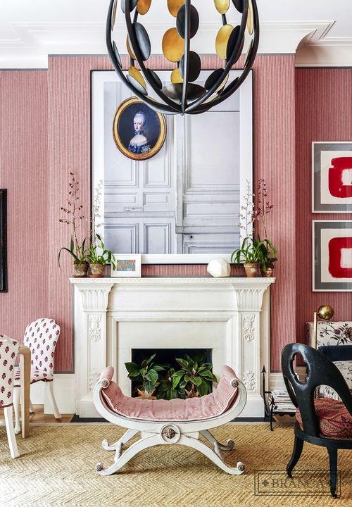 Designer Crushing On Alessandra Branca: Red Living Room At Kips Bay  Decorator Showhouse 2015
