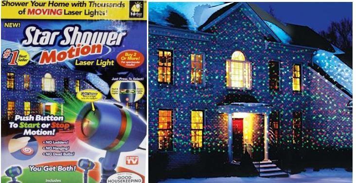 Amazon: Star Shower Motion Laser Lights Star Projector ONLY $29.99 {reg. $49.99}