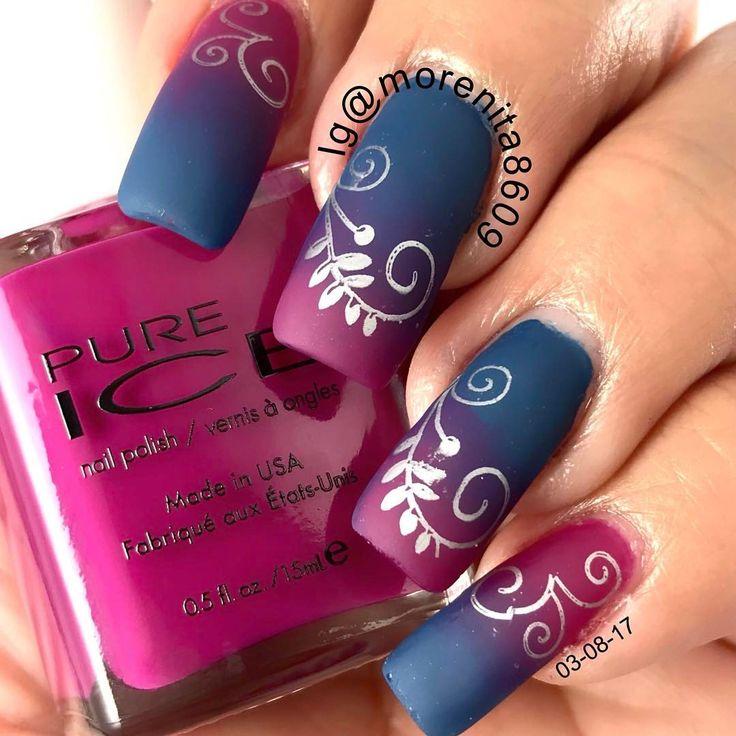 266 best * Gradient/Ombre Nail Art Design Ideas images on Pinterest ...