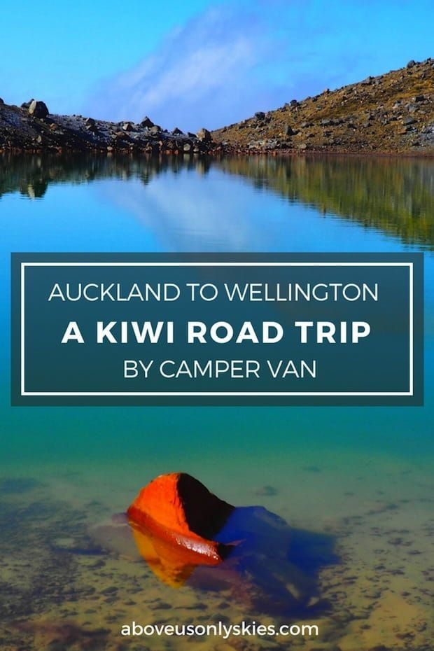 Explore volcanic landscapes, world-class beaches and Maori culture in this two-week road trip through New Zealand's North Island...AUCKLAND TO WELLINGTON - A KIWI ROAD TRIP BY CAMPER VAN | Above Us Only Skies