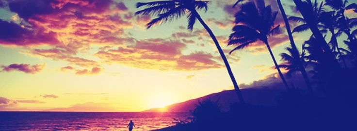 Sunset At Beach Facebook Cover Photo | JUSTBESTCOVERS