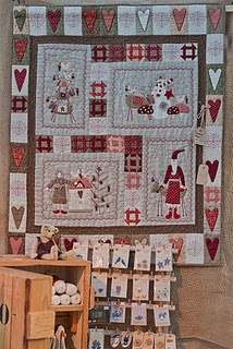 adorable christmas quilt!
