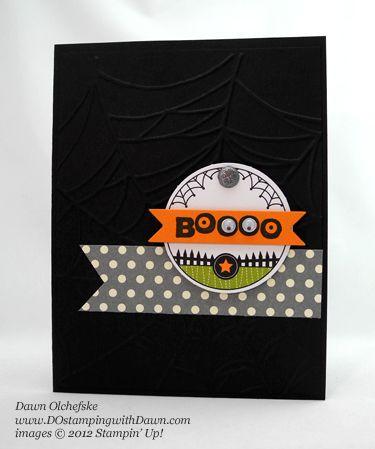 stampin up dostamping dawn olchefske demonstrator ghoulish googlies designer - Stampin Up Halloween Ideas