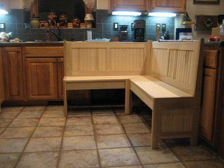 kitchen corner bench for a nook. Interior Design Ideas. Home Design Ideas