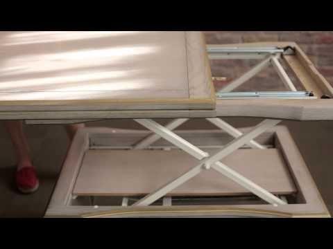 Стол трансформер Акробат Премиум светлый. - YouTube