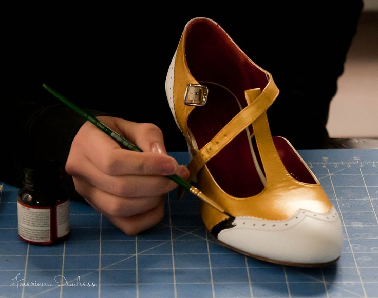 American Duchess:Historical Costuming: How To Paint Your Own 1920s Flapper Shoes | Historical Costuming and sewing of Rococo 18th century clothing, 16th century through 20th century, by designer Lauren Reeser