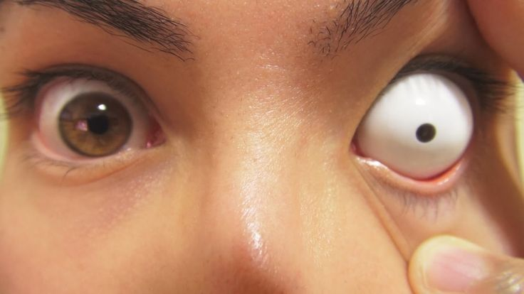 13 самых странных контактных линз. 13 strangest contact lenses