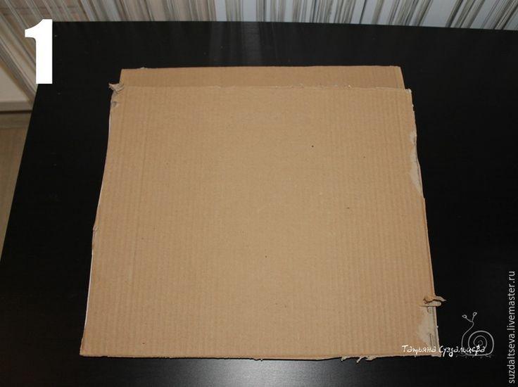 фотофон как сделать из картона-дерево