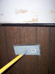 Sanding Faux Wood Paneling Home Design Walls