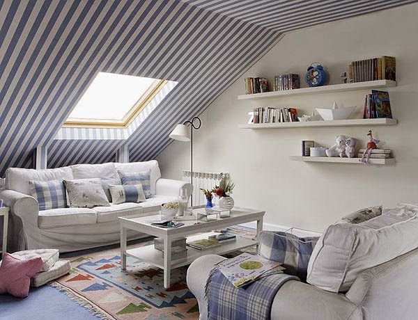 10 techos a rayas que te asombrarán · 10 striped ceilings that will amaze you