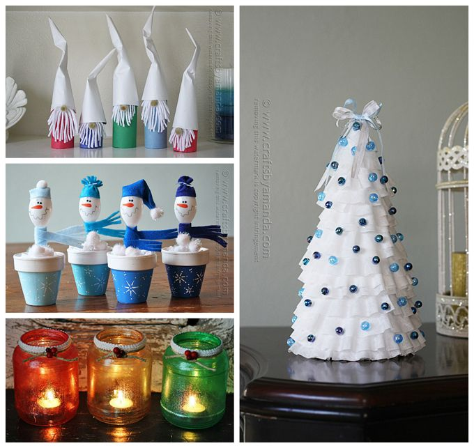 More new Christmas ideas from Amanda Formaro of Crafts by Amanda