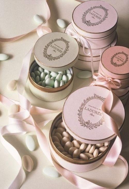 Ladurée Pink Candy Boxes