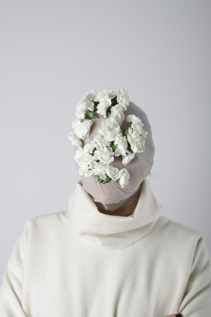 My interpretation of Maison Martin Margiela mask, by Nikė Kotryna