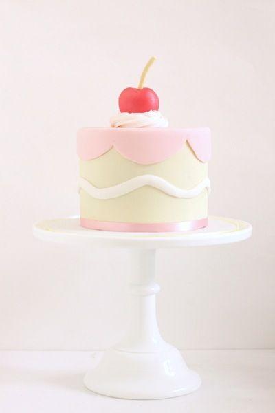 Cherry on Top Mini Cake