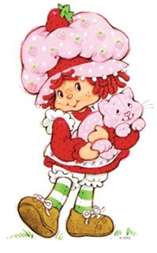 Strawberry Shortcake | Vintage | Pinterest
