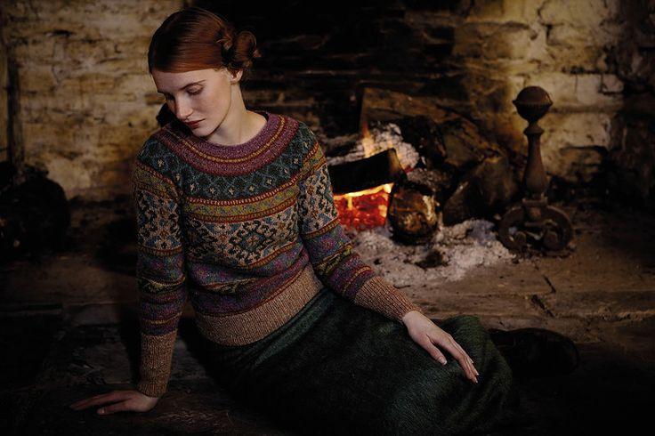 пуловер ANATOLIA BY MARIE WALLIN - ROWAN 54. Обсуждение на LiveInternet - Российский Сервис Онлайн-Дневников