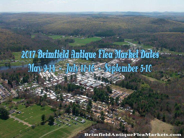 Brimfield Flea Markets 2017: May 9-14, July 11-16, September 5-10