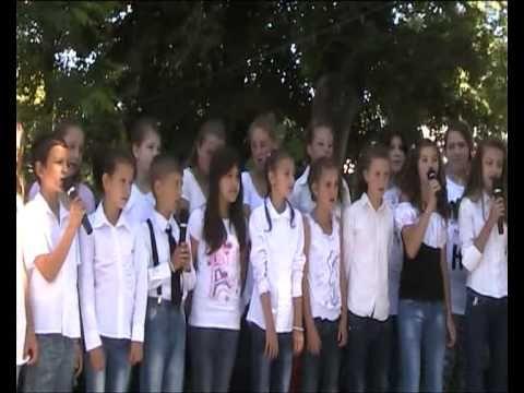 Sfârşit de an şcolar 2013 la Şcoala Gimnazială Grajduri.
