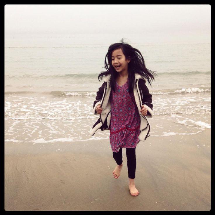 Winter Beach Fun by evelyn.amis
