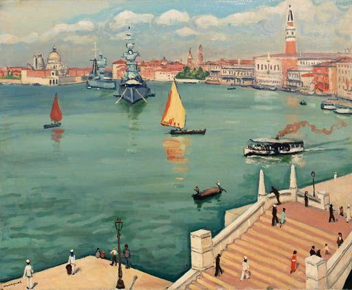 Albert Marquet - Le grand canal à Venise on MutualArt.com