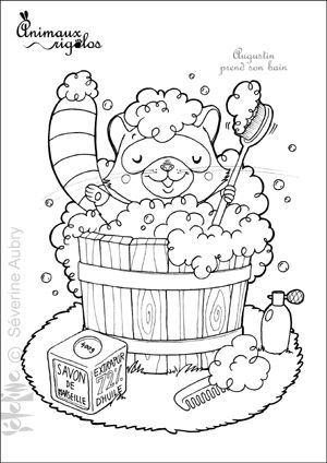 431 best coloring pages images on pinterest print for Bath time coloring pages