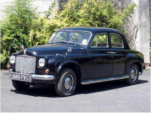 Rover P4 75 MK II -(1955)