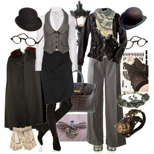 Steampunk for the everywoman - well, maybe not the monocle  :)