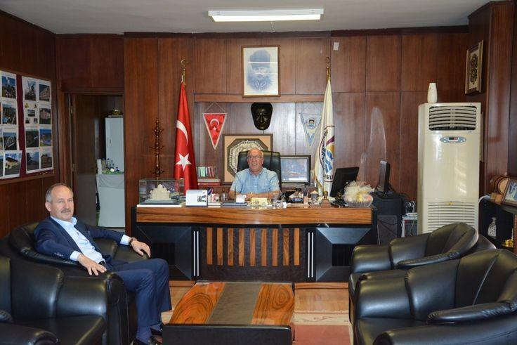 Çorlu TSO Yönetim Kurulu Başkanı İbrahim Gönül´den Marmara Ereğlisi Belediye  Başkanı   İbrahim Uyana Ziyaret