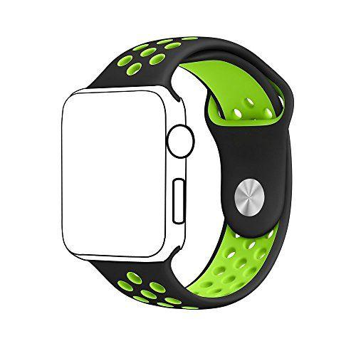 Pour Apple Watch Band Série 1 série 2, souple en silicone Sport Bracelet de remplacement Sangle pour iWatch Band Taille M/L - https://streel.be/pour-apple-watch-band-serie-1-serie-2-souple-en-silicone-sport-bracelet-de-remplacement-sangle-pour-iwatch-band-taille-ml/