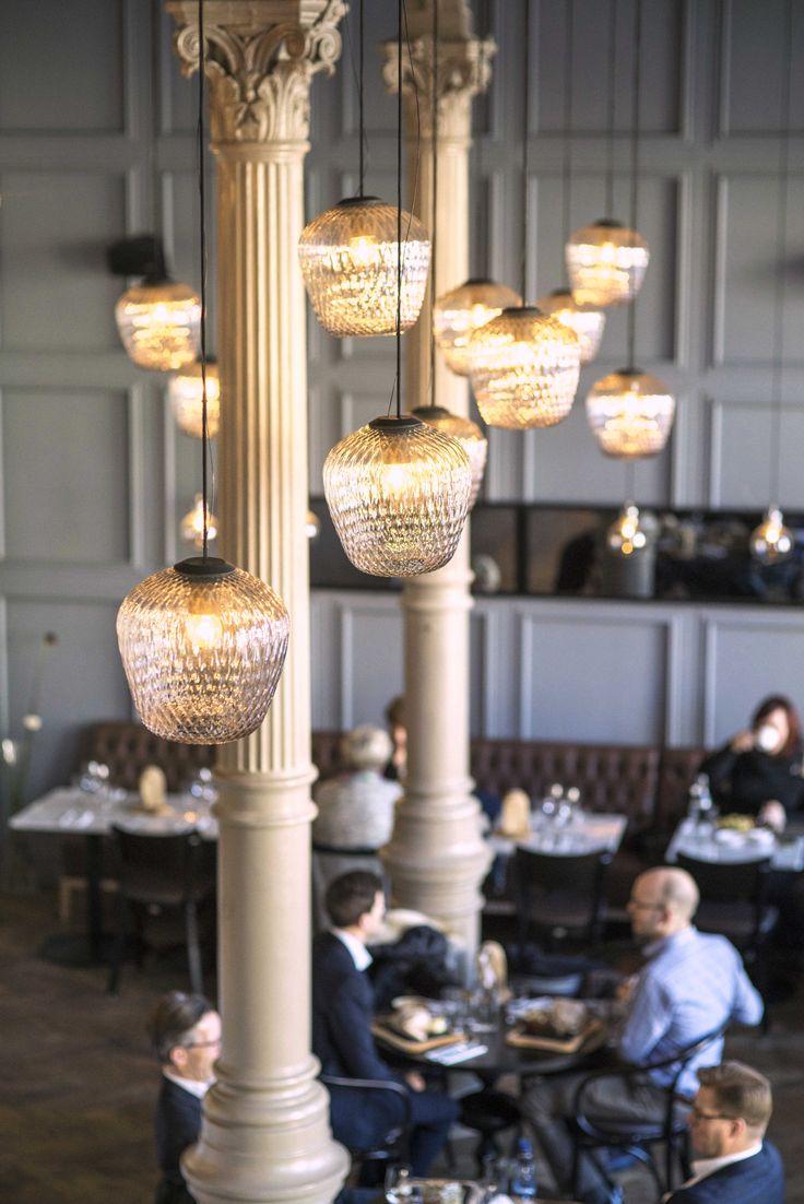 Restaurant Fjøla in Oslo, designed by Metropolis arkitektur & design. Photo: Bjørn Large. www.metropolis.no