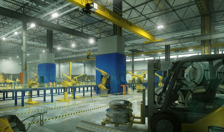 MILOO LIGHTING - Fittings for industrial halls and warehouses LED   SPACE M