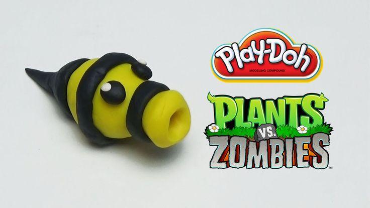 Play-Doh Plants vs Zombies Garden Warfare Beeshooter from Plants Vs. Zom...