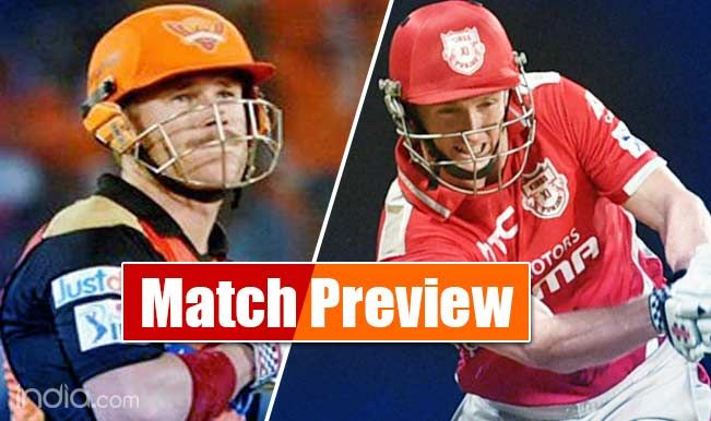 Here are goes to Kings XI Punjab vs Sunrisers Hyderabad IPL Live Scores Ball by Ball Today Match. Get all about news of IPL Indian Premier League 2017. Live score ball by ball commentary live updates and highlights.