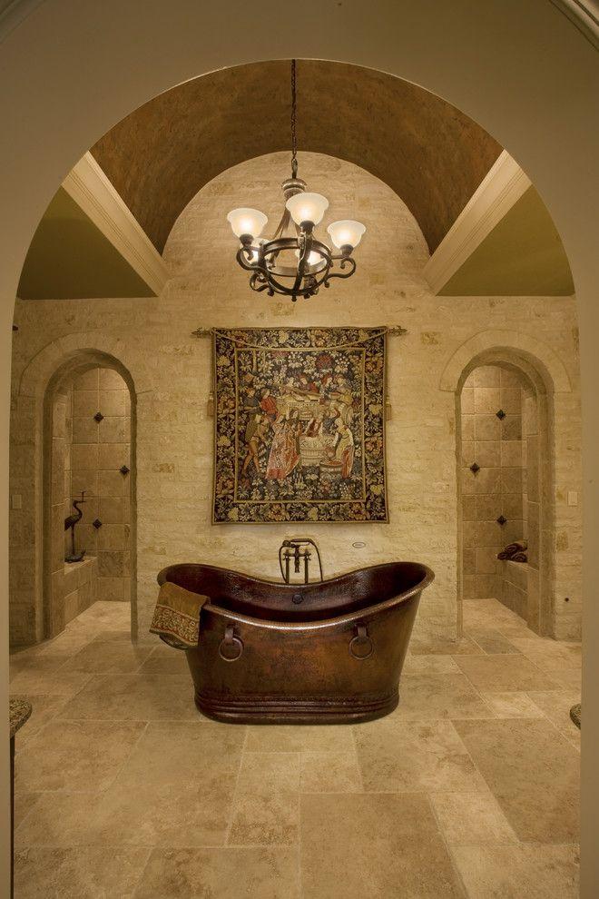 Sam Allen Custom Home Design - traditional - bathroom - austin - Sam Allen Custom Home Design. Oh that shower!!!