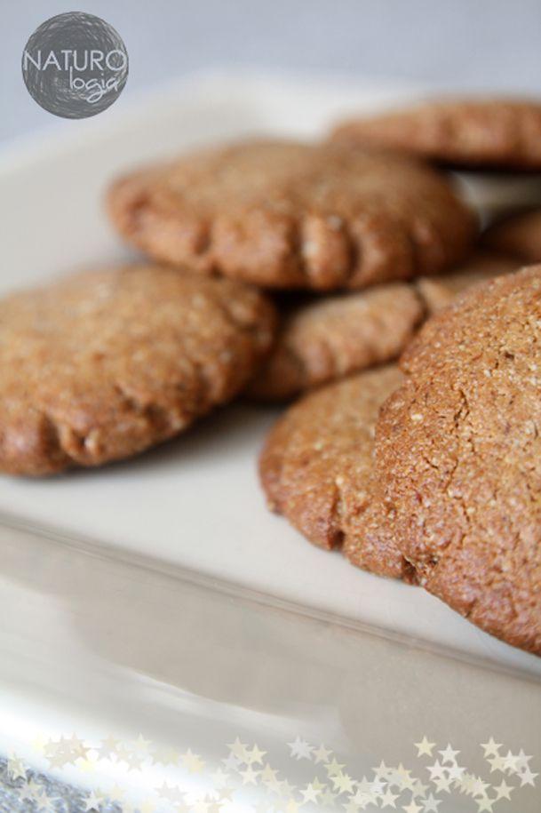 delicious almond gingerbread cookies - no flour