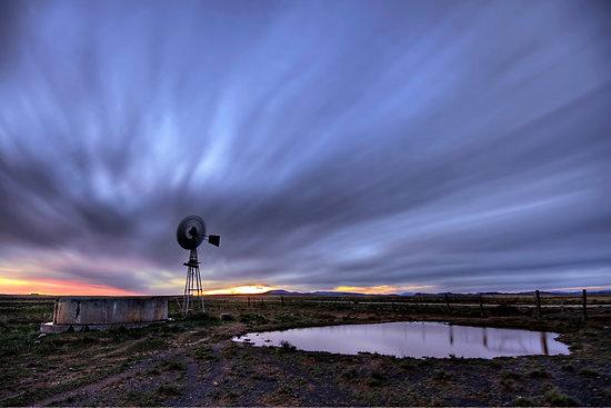 #ArtintheKaroo Karoo sunset after thunderstorm - My favourite photograph by Robert Southey #ExploreTheKaroo