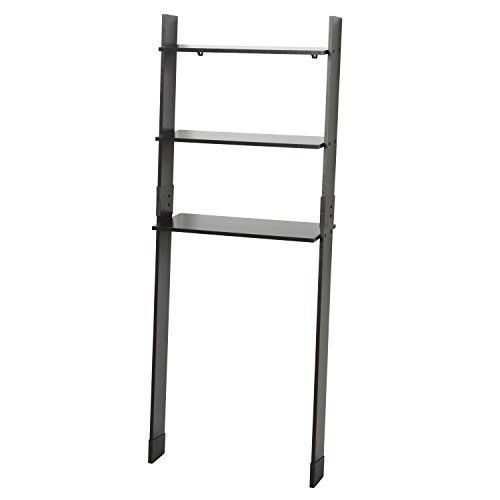The Zenna home wood ladder Spacesaver takes up minimal space and maximizes storage with clean look on the wall. Store linens, towels and other bathroom items on the open ladder design. This modern design easily organizes storage space over the Toilet and is available in both white or Espresso... more details available at https://furniture.bestselleroutlets.com/bathroom-furniture/over-the-toilet-storage/product-review-for-zenna-home-9431ch-wood-ladder-bathroom-spacesaver-espre