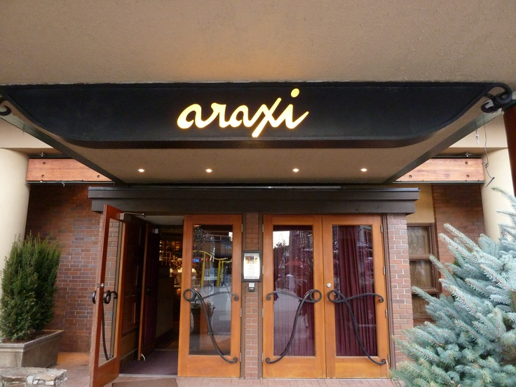 Araxi...Whistler Village...one of the ABSOLUTE best places I've ever eaten...EVER!!!!!