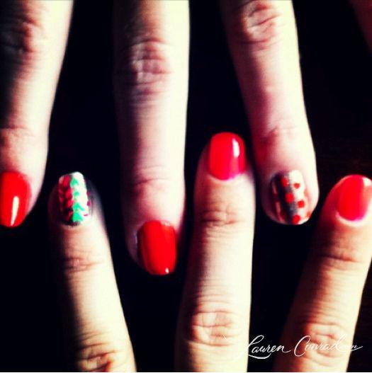 african-inspired manicure #LaurenConrad
