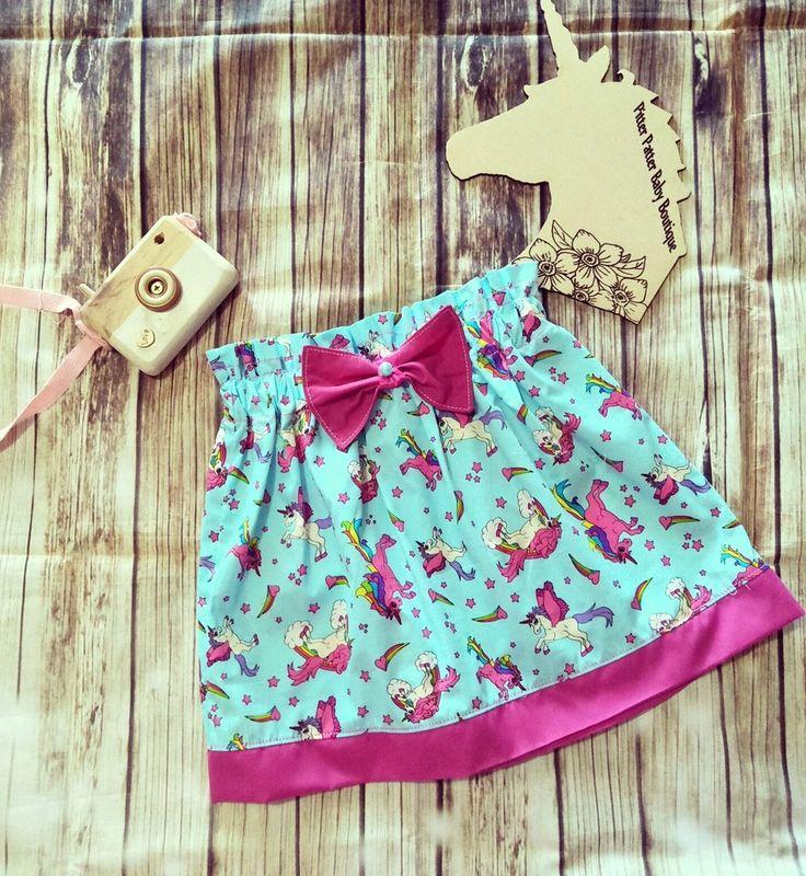 Unicorn High Waist Skirt