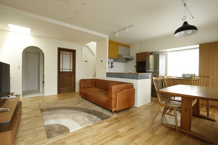 リフォーム・リノベーションの事例|LDK|施工事例No.446 小さな個室と大きなリビング、心地のよい暮らし方|スタイル工房