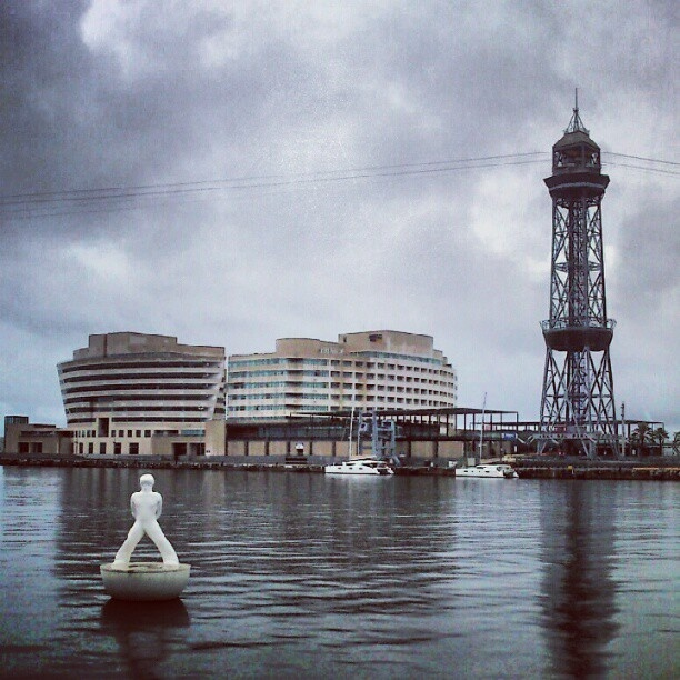 Barcelona Pier view - @ibbanez- #webstagram #ibbanez