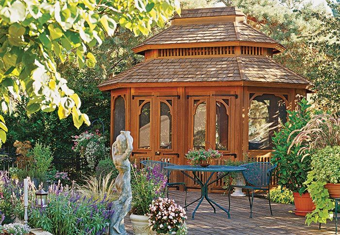 Do It Yourself Home Design: Best 25+ Enclosed Gazebo Ideas On Pinterest