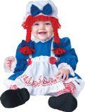 InCharacter Baby Girl's Rag Doll Costume, Red/White/Blue, Small - http://halloweencostumesheaven.ianjweboffers.com/2015/09/08/incharacter-baby-girls-rag-doll-costume-redwhiteblue-small/