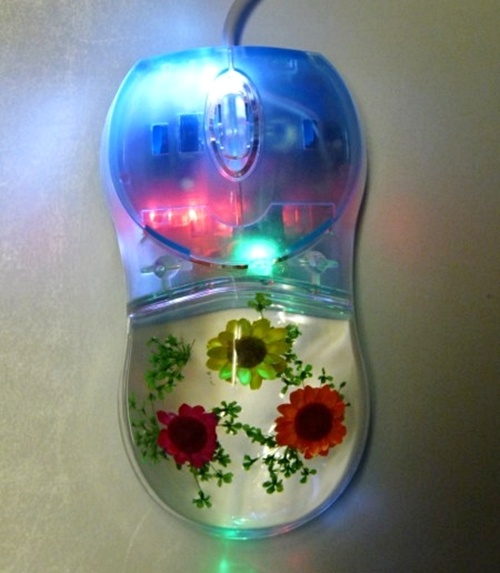 Cool Computer Mouse #computers, #design, #flowers