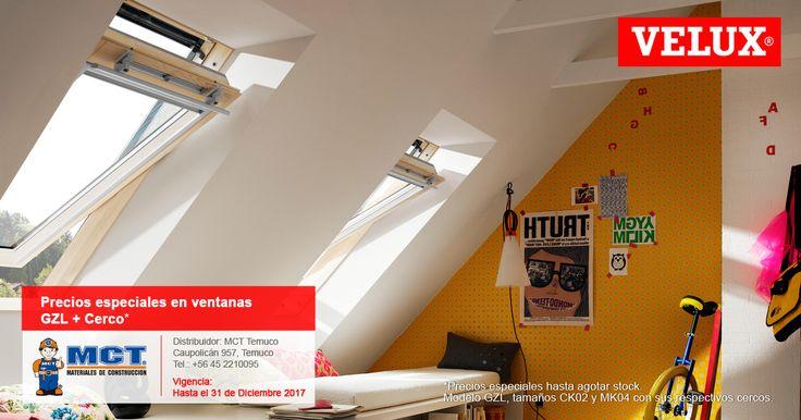 En MCT de #Temuco encontrarás excelentes precios en ventanas #Velux  #Diciembre Mirá las #promos activas: http://www.velux.cl/campanas-ve…/promociones-activas/activas