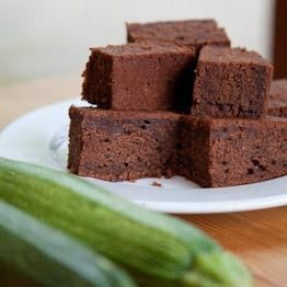 chocolade-courgette cake