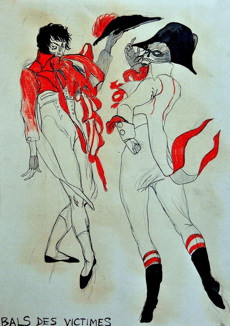 BODY & SPIRIT ENGINEERING: Bal des victimes - projekty kostiumów