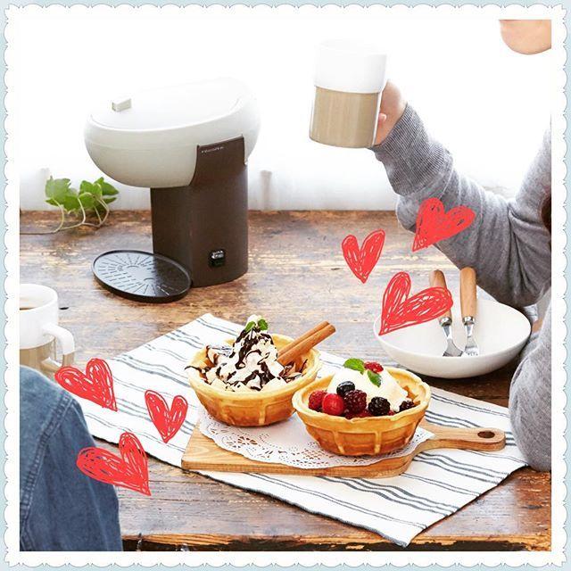人気の#プチプラ家電 「#レコルト 」から新しくお家で#ワッフル が作れる#ワッフルメーカー と2杯分の#コーヒー が入れられる#コーヒーメーカー が登場!!#おうちカフェ もおしゃれに充実^ ^ その他にもレコルトの人気商品をサイトでご紹介してます^ ^ #BONNE#bonne#ボンヌ#recolte#ワッフルボウルメーカー#カフェデュオパウス#coffee#オシャレ家電#プチプラ#おうち時間#うちカフェ #follow#followme#フォロー#フォローミー