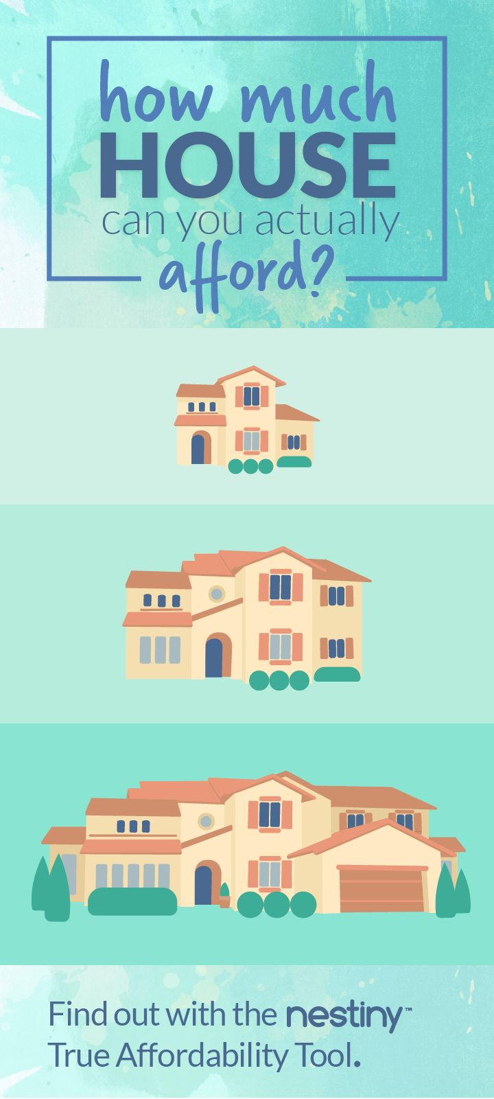 Thinking of buying a home? Not sure what you should spend? Not sure what home size is right for you? No worries! We've got you covered. Get started here with our free Homebuying tips, tools and games at Nestiny! Visit www.Nestiny.com and get your journey started! #homebuying